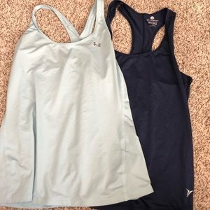 Exercise tank tops
